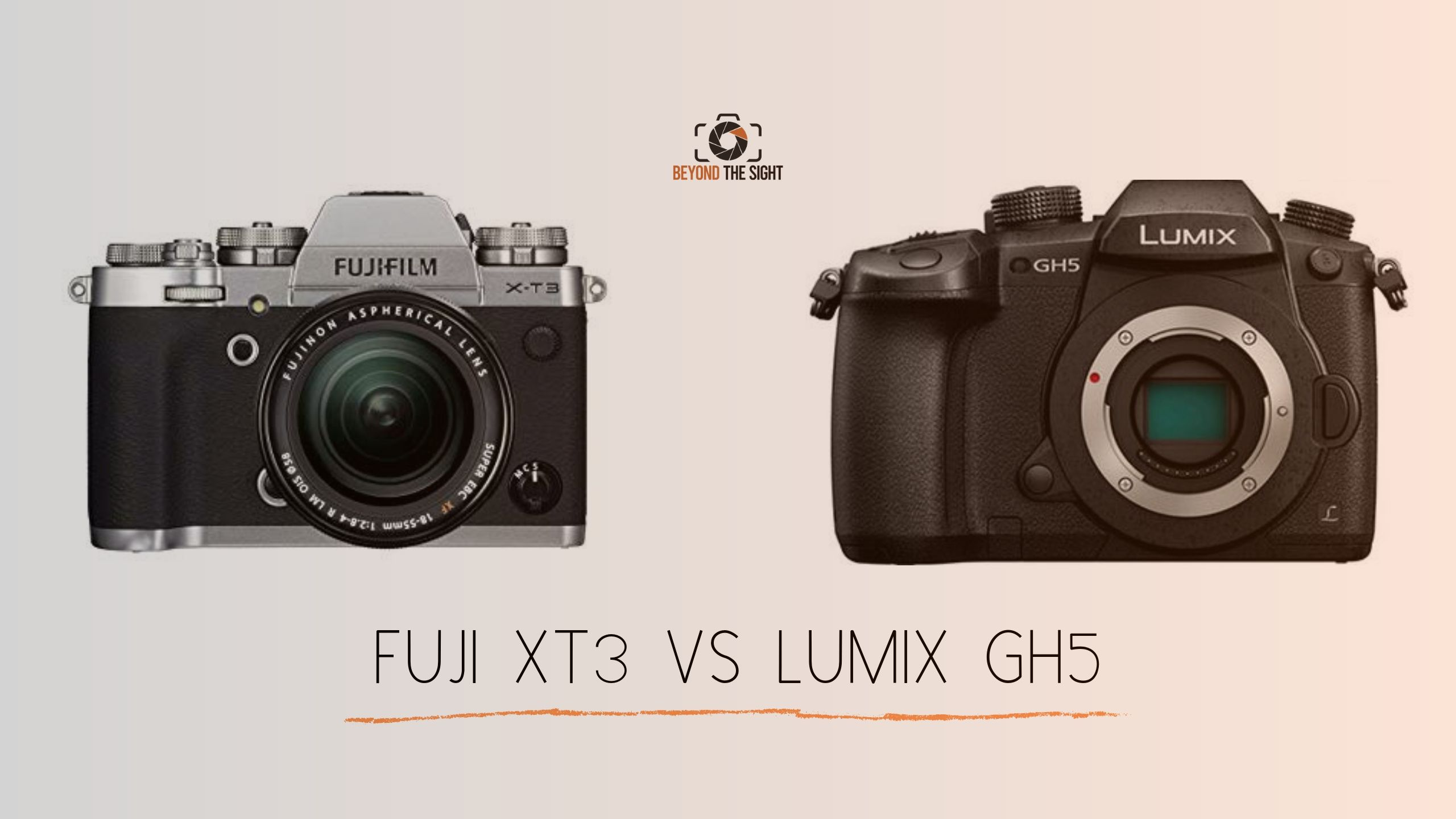 Panasonic Lumix GH5 vs Fujifilm XT3